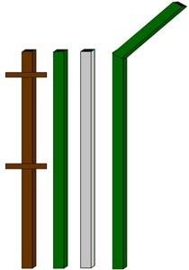 изготовление металлические столбы в Киселевске